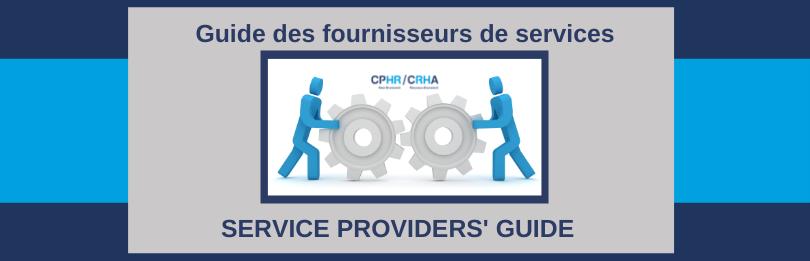 Service Providers' Guide / Guide des fournisseurs de services